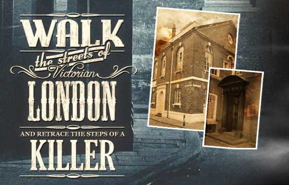 Walk the streets of Victorian London and retrace the footsteps of Jack the Ripper.