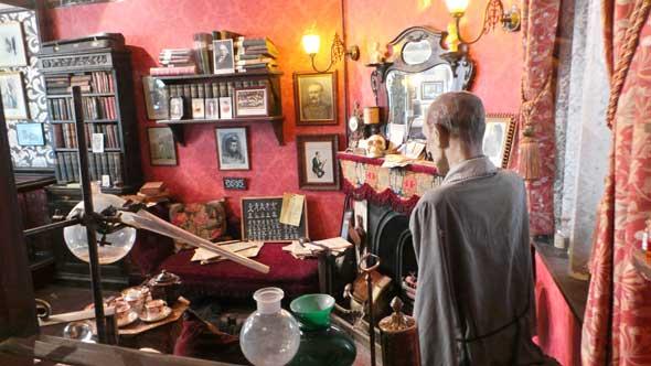 Discover London with Sherlock in 221B Baker Street slot
