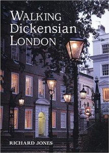 The book cover of Richard's book Walking Dickensian London.